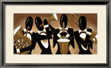 Brass Quartet Prints by Lori McPhee