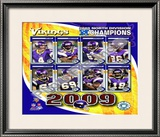 2009 Minnesota Vikings NFC West Divison Champions Framed Photographic Print