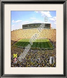 Michigan Stadium University of Michigan Wolverines 2009 Framed Photographic Print