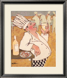 Chardonnay Tasting Art by Carole Katchen