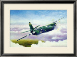 Martin B26 Framed Giclee Print by Douglas Castleman
