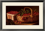 Still Life with Berries Poster by Levi Wells Prentice