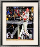 Chase Utley Game 1 of the 2009 World Series Framed Photographic Print
