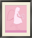 Angel Print by Le'onor Mataillet