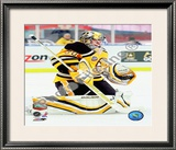 Tim Thomas 2010 NHL Winter Classic Framed Photographic Print