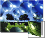 Bubble Pasture, Bergisch Land, Germany Art by Abdul Kadir Audah