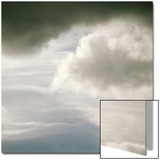 Cloudy Sky with Dark Cloud Poster by Deon Reynolds