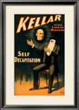 Keller the Magician in His Latest Mystery Framed Giclee Print