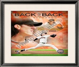 Tim Lincecum 2009 National League Cy Young Award Winner Framed Photographic Print