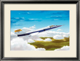 Nasa F1046 Star Fighter Framed Giclee Print by Douglas Castleman