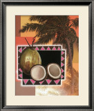 Coconut Palm Print by T. C. Chiu