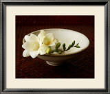 Freesia and Bowl Prints by Florence Rouquette