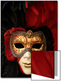 Ornate Mask, Venice, Italy Prints by Abdul Kadir Audah
