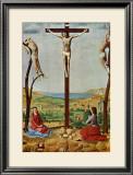 Crucifixion Poster by  Antonello da Messina