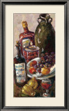 Pears and Wine Posters by Joan Blackburn