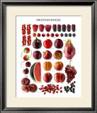 Red Fruit Prints
