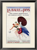 La Baule les Pins Framed Giclee Print by Leonetto Cappiello