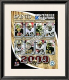 2009 New Orleans Saints NFC Champions Framed Photographic Print