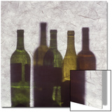 Silhouette of Wine Bottles Prints by Daniel Root