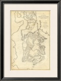 Civil War: Yorktown To Williamsburg, c.1862 Framed Giclee Print by Henry L. Abbot