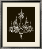 Elegant Chandelier I Prints by Ethan Harper