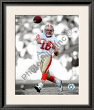 Joe Montana Framed Photographic Print