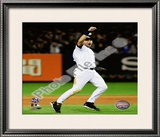 Derek Jeter Game Six of the 2009 ALCS Celebration Framed Photographic Print