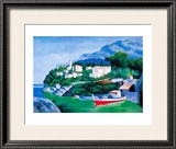 Italian River IV Prints by V. Lopasso