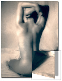 Rear View Nude Stretching Prints by Ade Groom