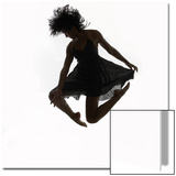 Woman Jumping in the Air Dancing Posters by Alfonse Pagano
