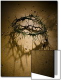 Crown of Thorns with Large Shadow and Pieces of Rock Posters by Joshua Hultquist