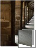 Columns Leading Down a Hallway Prints by Paul Hernandez