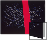 Abstract Image in Black and Red Poster by Daniel Root