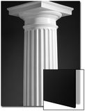 Graphic Corinthian Column Icon Studio Art by Steve Cicero