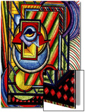 Abstract Sleepy Eye Peers from Doorway Posters by Rich LaPenna