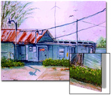 Old Fish House with Electricity Prints by Rich LaPenna