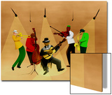 Ragtime Band Art by Rich LaPenna