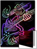 Hot Hands Playing Guitar Prints by Emiko Aumann