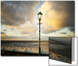 Lamp on North Pier, Blackpool, England, Uk Posters by Kevin Walsh