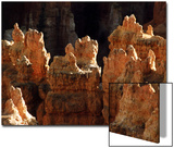 Rock Formations, Bryce Canyon National Park, Utah, USA Art by Margaret L. Jackson