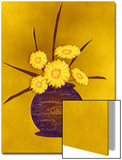 Vase of Five Yellow Flowers Prints by Rich LaPenna