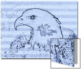 Bald Eagle Illustration Prints by Rich LaPenna