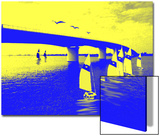 Sailboats Sailing under Bridge Posters by Rich LaPenna