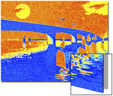 Sailboats Sailing under Bridge Prints by Rich LaPenna