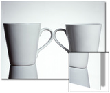 Two Cups with Handles Touching Posters by  Monzino