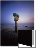 Balanced Rocks on the Beach Prints by Frank Rapp