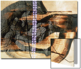 Abstract Image in Beige, Brown, and Black Prints by Daniel Root