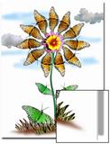 Butterfly Plant Prints by Emiko Aumann