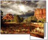 Bell Rock and Courthouse Butte, Sedona, Arizona, USA Posters by Rich LaPenna
