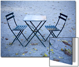 Two Chairs and Table Prints by Eric Anthony Johnson
